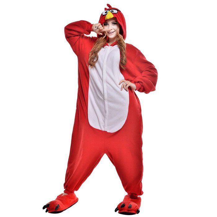 Пижама Кигуруми Angry Birds (Флис)
