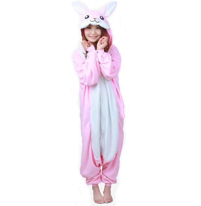 Пижама Кигуруми Кролик (Флис)